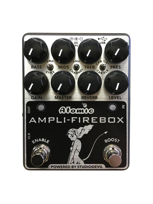 Atomic AmpsAmpli-Firebox 【入荷!即納可能!!】【あす楽対応】【送料無料!】