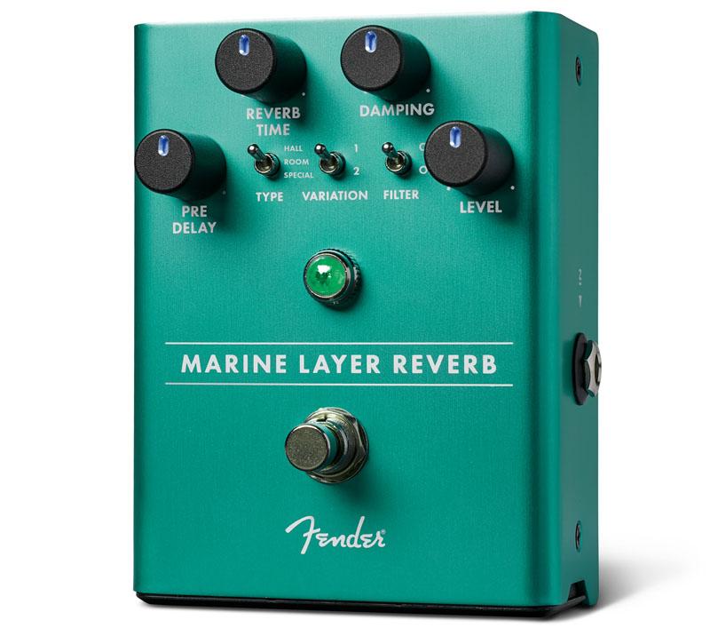 Fender《フェンダー》 MARINE LAYER REVERB PEDAL[234532000]【あす楽対応】