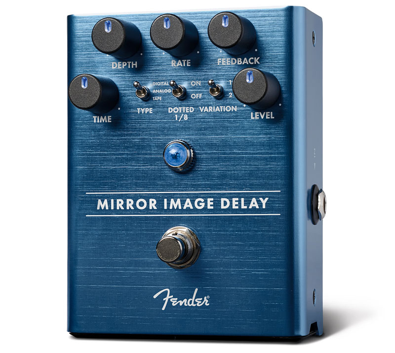 Fender《フェンダー》 Mirror Image Delay Pedal[234535000]【あす楽対応】