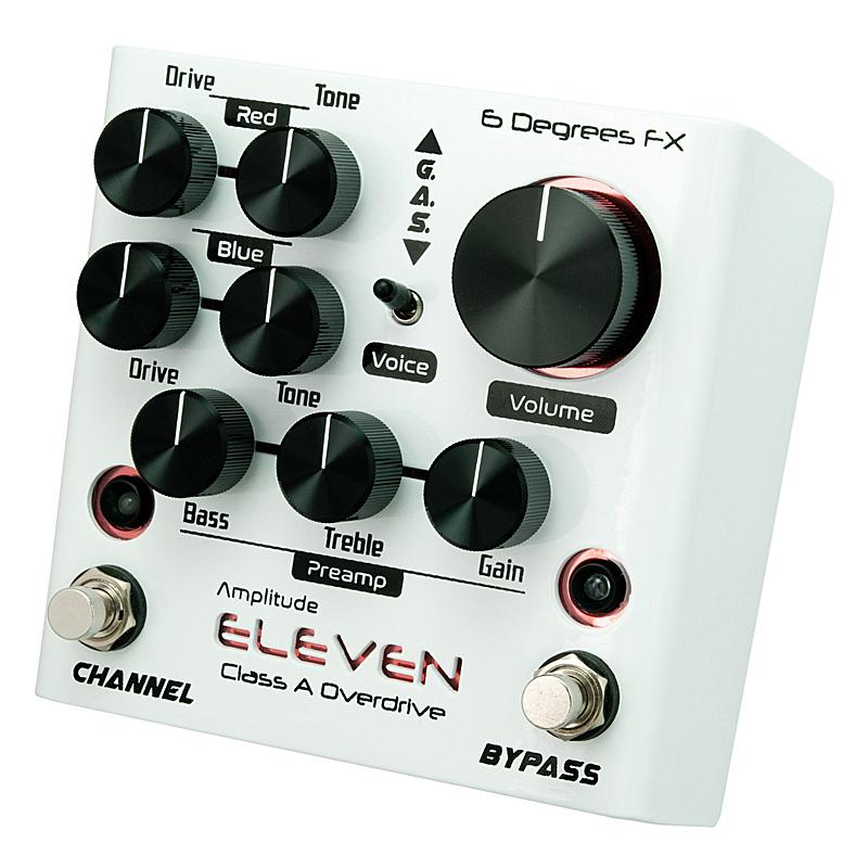 6 Degrees FX《シックス・ディグリース・FX》Amplitude Degrees ELEVEN ELEVEN [Class [Class A Overdrive]【あす楽対応】, サクラク:dc3489a3 --- sunward.msk.ru