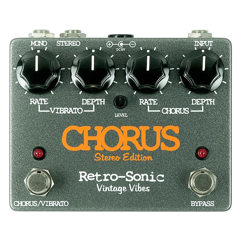オリジナルCE-1を忠実に再現 Retro-Sonic 《レトロ マーケティング 爆安 ソニック》Chorus あす楽対応 Stereo Edition
