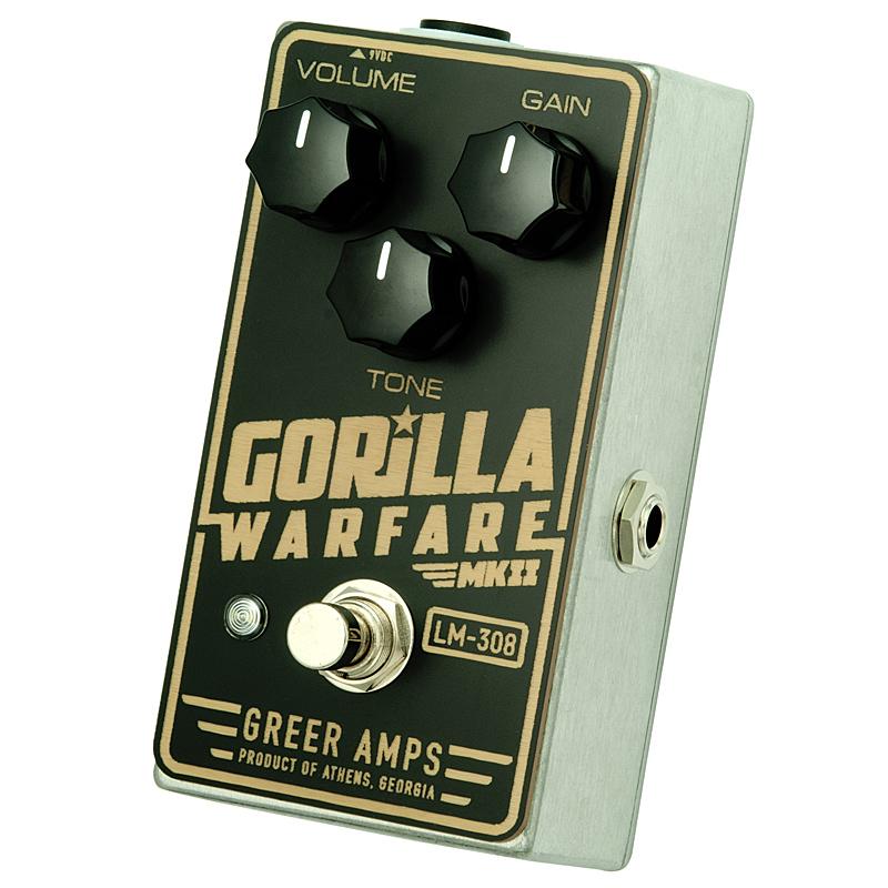 Greer Amps《グリアー・アンプス》 Gorilla Warfare MKII 【あす楽対応】