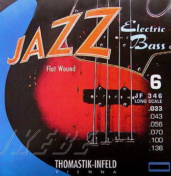 Thomastik-Infeld 《トマスティック・インフェルト》 Electric Bass Strings JF365 [Nickel Flat Wound Roundcore Bass Strings for Super Long Scale 36 inch 5-strings]