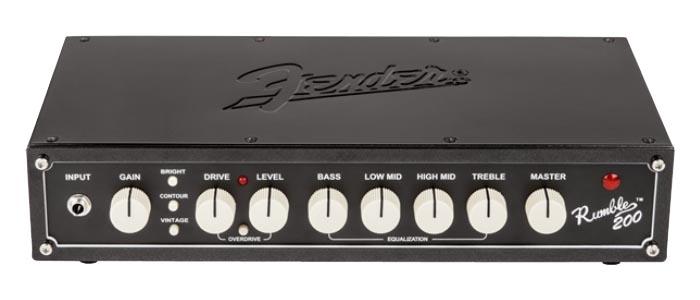 Fender《フェンダー》USA RUMBLE 200 HEAD V3【PB】 【oskpu】