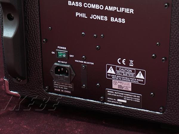 PJB(PhilJonesBass)SuitcaseCompact