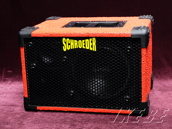 SCHROEDER 《シュローダー》 The Mini 8+LIGHT (Candy Apple Red)[8Ω/400W]