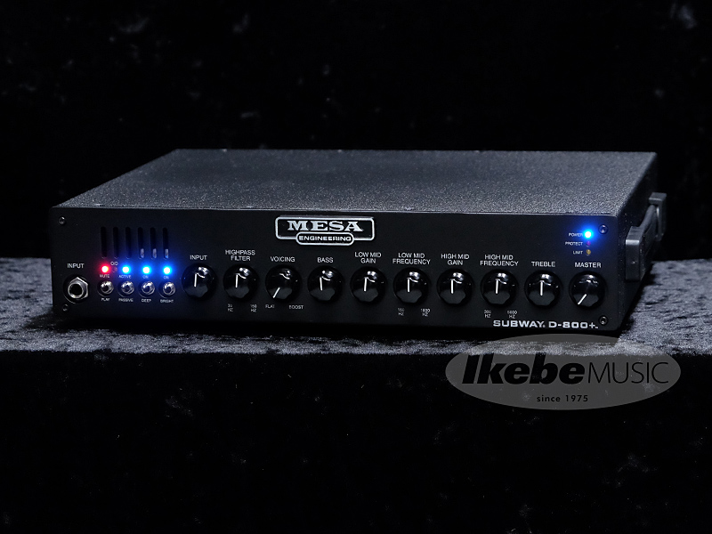 Mesa Boogie《メサ・ブギー》 Subway D-800+ [800W/4or2Ω]