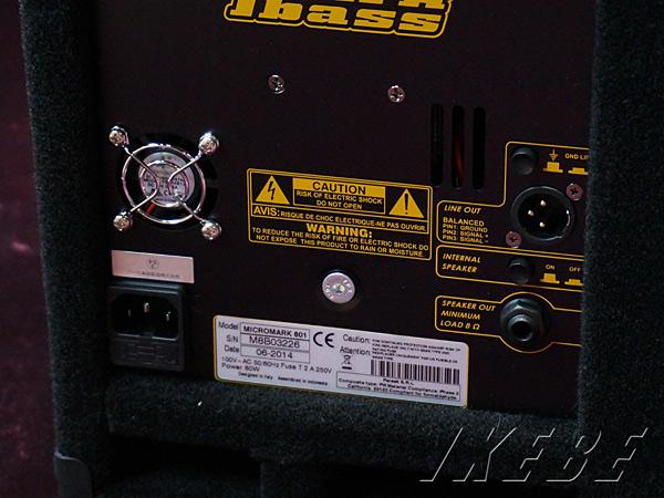 Mark Bass《マークベース》 Micro Mark 801 [MAK-MICROM8] 【特価】【あす楽対応】