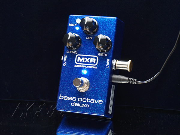 MXRM288 [Bass Octave Deluxe]【正規品】【ベースエフェクター】【9Vアダプタープレゼント】