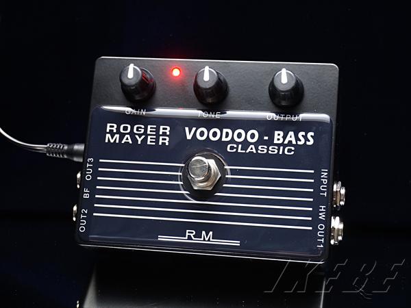 Roger Mayer 《ロジャー・メイヤー》Voodoo-Bass Classic【PB】