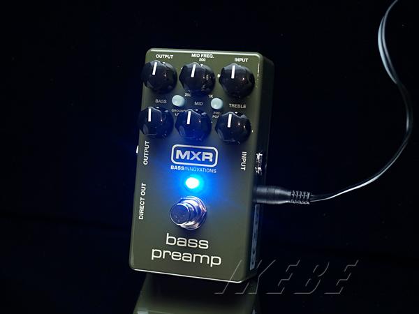 MXR M81 [Bass Preamp]【正規品】【ベースエフェクター】【9Vアダプタープレゼント】
