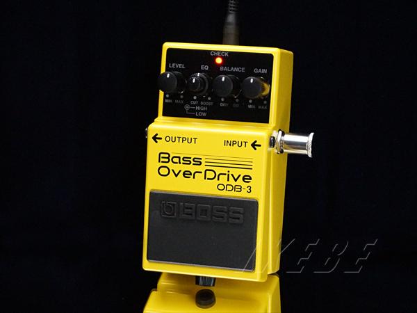 BOSS 《ボス》ODB-3 [Bass Over Drive]【ベースエフェクター】【期間限定★送料無料】【oskpu】【あす楽対応】