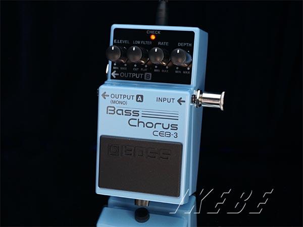 BOSS 《ボス》CEB-3 Bass Chorus 【ベースエフェクター】【期間限定★送料無料】【IKEBE×BOSSオリジナルデザイン缶クージープレゼント】【oskpu】【あす楽対応】