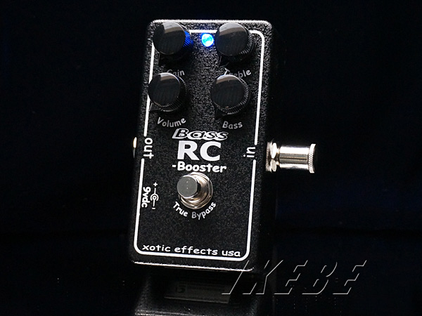 Xotic 《エキゾチック》 Bass RC-Booster