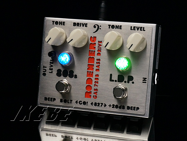 Rodenberg 《ローデンバーグ》 GAS-728BNG [Next Generation Clean Boost&Bass Overdrive]