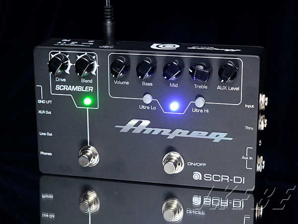 Ampeg 《アンペグ》 SCR-DI [Bass D.I. with Scrambler Overdrive]【特価】【あす楽対応】