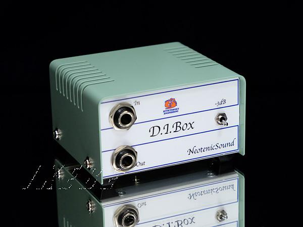 NeotenicSound 《ネオテニック・サウンド》 D.I.Box [ギター/ベース用パッシブD.I.]