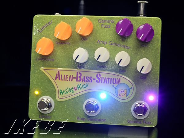 Analog Alien 《アナログ・エイリアン》 Alien Bass Station【ベースエフェクター】【期間限定スペシャル・プライス!】