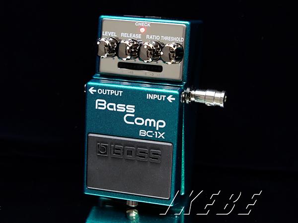 BOSS 《ボス》BC-1X [Bass Comp] 【ベースエフェクター】【期間限定★送料無料】【IKEBE×BOSSオリジナルデザイン缶クージープレゼント】【oskpu】【あす楽対応】