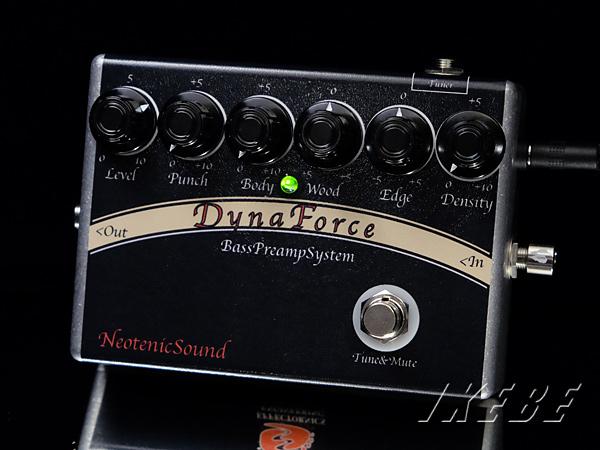 NeotenicSound《ネオテニック・サウンド》 DynaForce [ベース用プリアンプ]