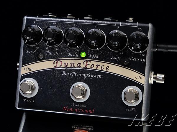 NeotenicSound《ネオテニック・サウンド》 Dyna Force SP[ベース用プリアンプ,w/Loop Switcher Version]