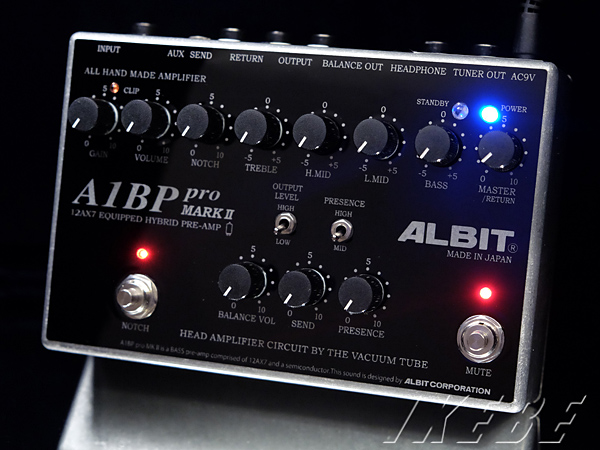 ALBIT《アルビット》 A1BP pro MARK II [12AX7 Equipped Bass Pre-amp,1ch]