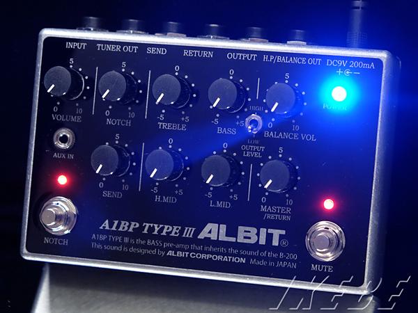 人気TOP ALBIT《アルビット》 A1BP TYPE TYPE III III A1BP [Bass Pre-amp], 加世田市:c596ebf1 --- canoncity.azurewebsites.net