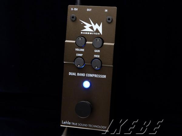 Lehle《リール》 RMI Basswitch Dual Band Compressor