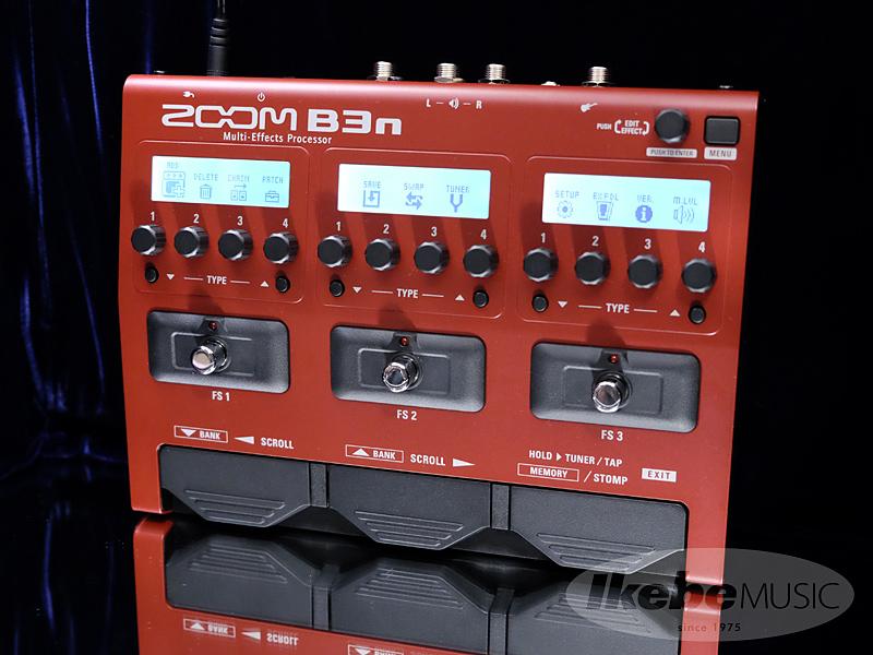 ZOOM 《ズーム》 B3n [Multi-Effects Processor] 【送料無料】【oskpu】【あす楽対応】
