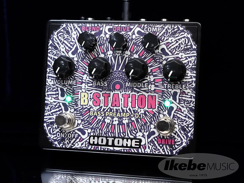 HOTONE《ホットーン》 B-STATION【ベース用エフェクター】