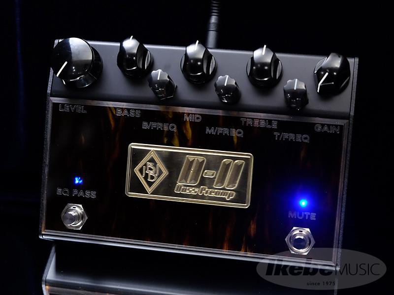 Inner Bamboo Bass Instruments《インナー・バンブー・ベース・インスツルメンツ》 BASS PREAMP II (B-II)