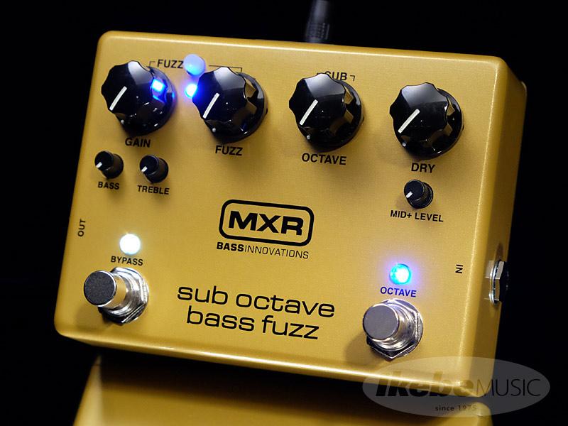 MXRM287 [Sub Octave Bass Fuzz] 【正規品】【ベースエフェクター】【9Vアダプタープレゼント】