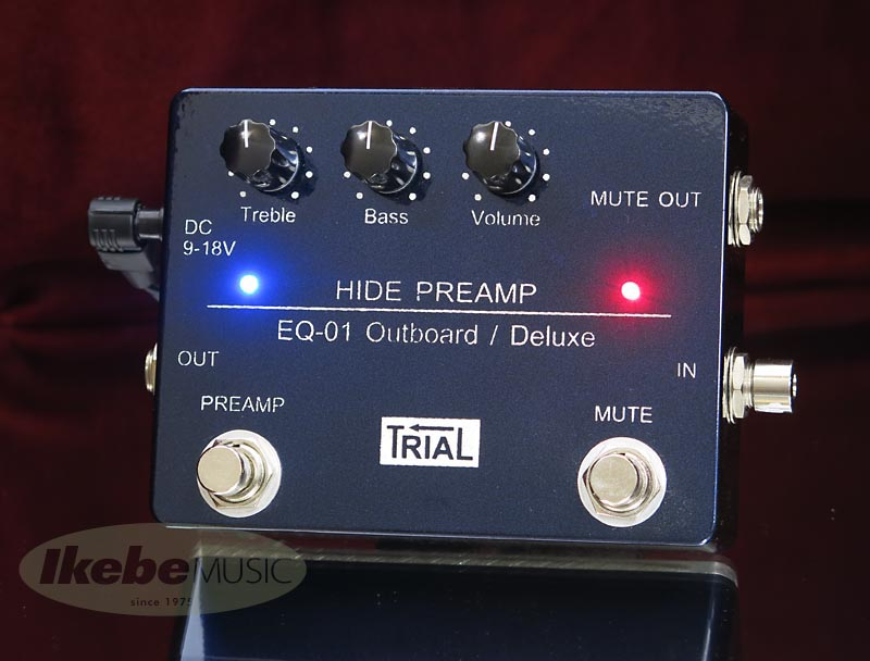 TRIAL《トライアル》 HIDE PREAMP EQ-01 Outboard/Deluxe [for Bass]