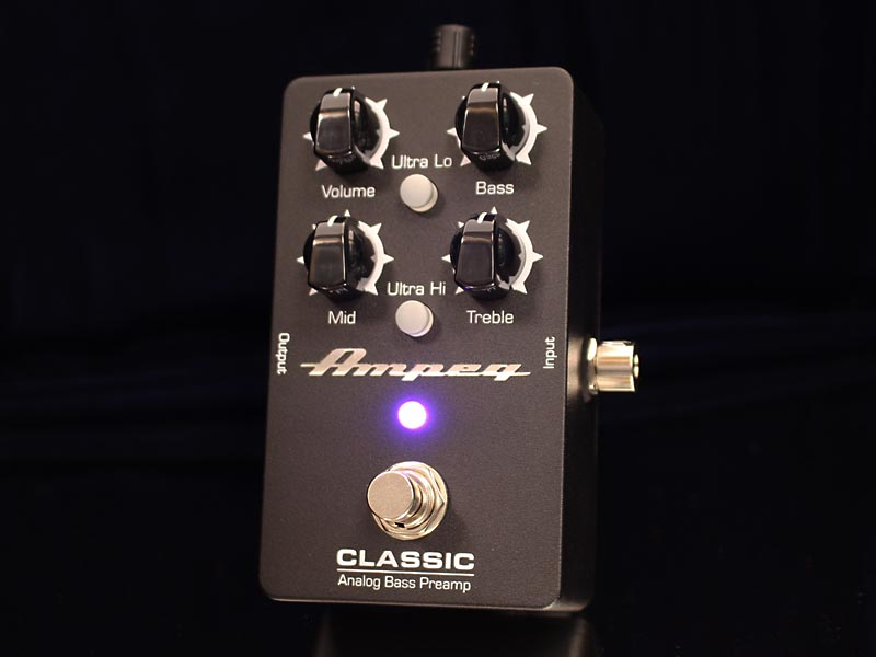 Ampeg《アンペグ》 Classic Analog Bass Preamp