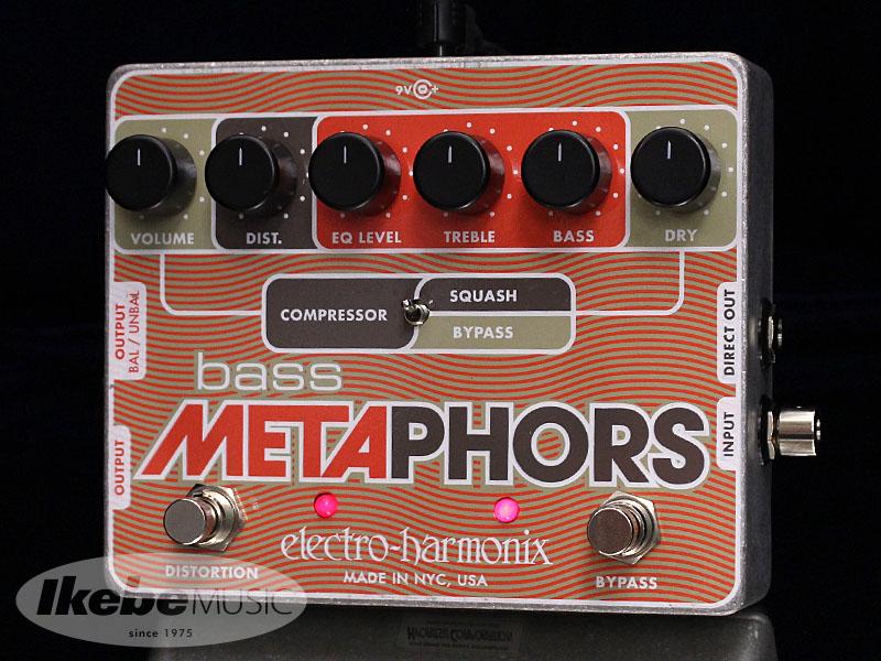 Electro Harmonix《エレクトロ・ハーモニックス》 Bass Metaphors [Preamp/EQ/Distortion/Compressor/DI Multi-Effect]【ベースエフェクター】【あす楽対応】