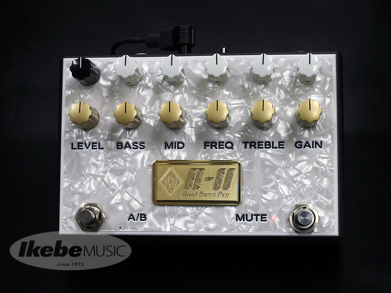 Inner Bamboo Bass Instruments《インナー・バンブー・ベース・インスツルメンツ》DUAL BASS PREAMP II (D-II/BAL) 【Balancer & Master Vol. for [MIX] Mode】 【あす楽対応】