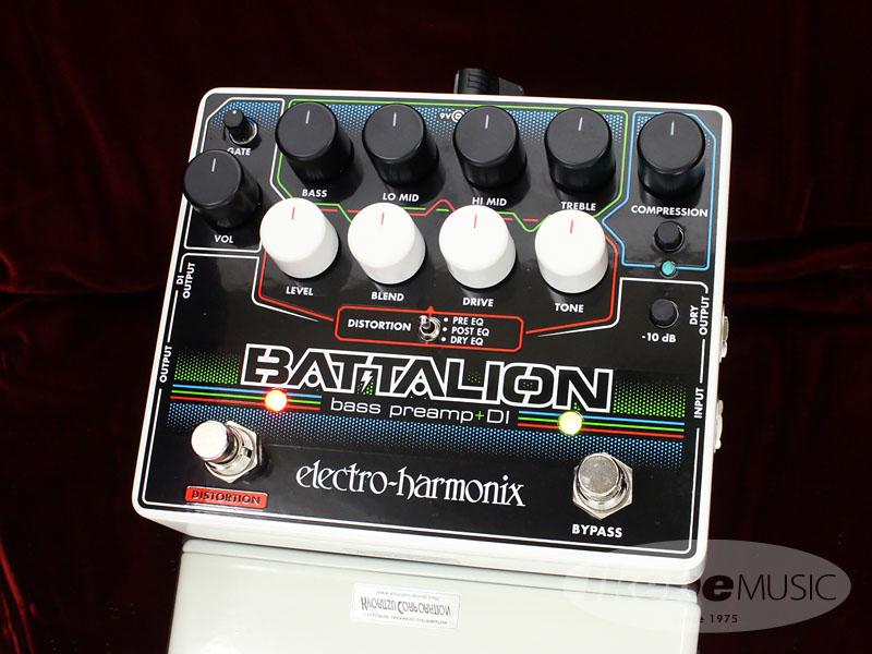 Electro Harmonix《エレクトロ・ハーモニックス》 Battalion [Bass Preamp & DI]【あす楽対応】
