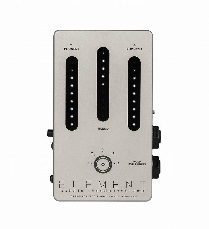 オーディオI F パワーアンプシミュレーター ☆新作入荷☆新品 6バンドEQを追加したバージョン2.1に進化 ミュージシャンが必要とする多くの要素を取り入れたツール Darkglass あす楽対応 Electronics《ダークグラスエレクトロニクス》ELEMENT Cabsim ディスカウント amp Headphone