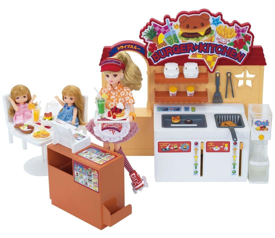 【送料無料】リカちゃん ドライブスルー できたてハンバーガーキッチン