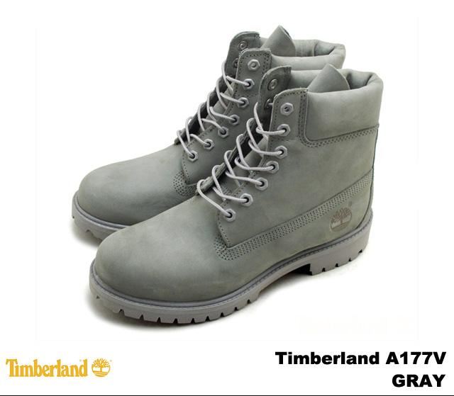 men's timberland 6-inch premium boots black-grey-gold
