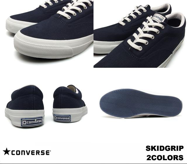 c85f3309128f Converse skid grip white navy men gap Dis sneakers CONVERSE SKIDGRIP  1CJ189 WHITE 1CJ188 NAVY