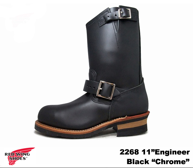 """Red Wing Engineer Boots 2268 RED WING # 2268 11 """"11 inch ENGINEER Red Wing Engineer Boots"""