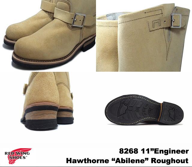 """红色工程师的靴子 8268 红翼 #8268 11""""11 寸工程师红翼工程师靴"""