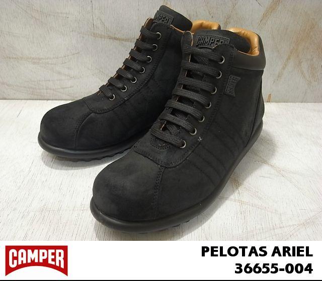 カンペール ペロータス アリエル CAMPER Pelotas Ariel 36655-004 Waxy Negro,Kr.Negro/Ariel Negro (ブラック)メンズ