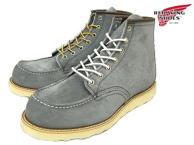 "Red Wing 8143 RED WING #8143 CLASSIC WORK 6 ""MOC-TOE Red Wing classical 6 inch MOC toe"
