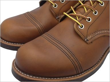 RED WING #8112 IRON RANGE Red Wing iron range boots