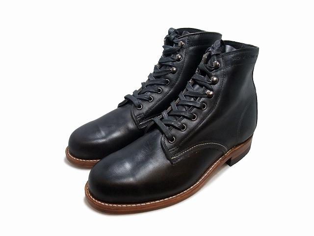 2020新作 ウルヴァリン 1000マイルブーツ 贈り物 ブラック ホーウィンクロムエクセル メンズ ブーツ WOLVERINE USA 1000 MILE W05300 MADE IN BOOT