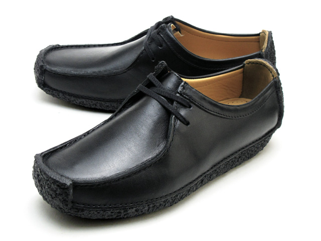 Clarks/克拉克的NATALIE/納塔利BLACK SMOOTH LEATHER 1115-47G