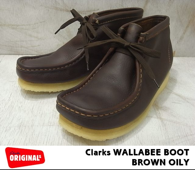 f86cc4a7cb PREMIUM ONE: Clarks Wallaby boots Clarks WALLABEE BOOT 35422 Brown ...