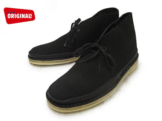 クラークス デザートガード メンズ ブラック スエード ブーツ Clarks DESERT GUARD 62131 BLACK SUEDE US規格
